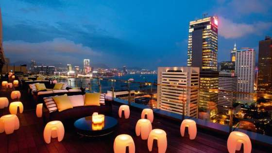 Hong Kong – SEVVA Rooftop Bar