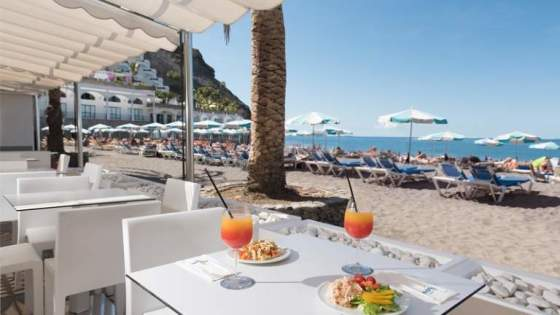Beach Club i Playa Taurito Gran Canaria